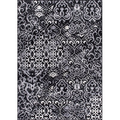 Horsham Black Area Rug Rug Size: Rectangle 311 x 510