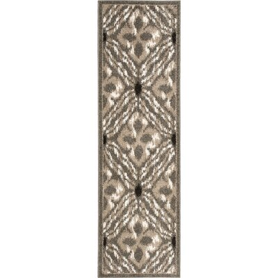 Horsham Brown Area Rug Rug Size: Runner 22 x 73