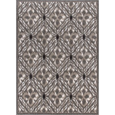 Horsham Brown Area Rug Rug Size: 53 x 73