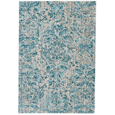 Andersen Aqua Area Rug Rug Size: Rectangle 710 x 11
