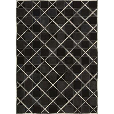 May Handmade Coal Area Rug Rug Size: Rectangle 8' x 11'