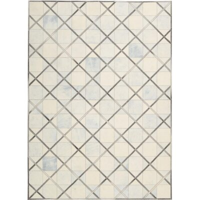 May Handmade Beige Area Rug Rug Size: Rectangle 53 x 75