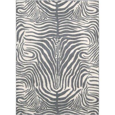 Ellesmere Graphite Area Rug Rug Size: 53 x 75