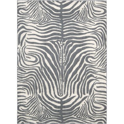 Rinaldi Graphite Area Rug Rug Size: 79 x 1010