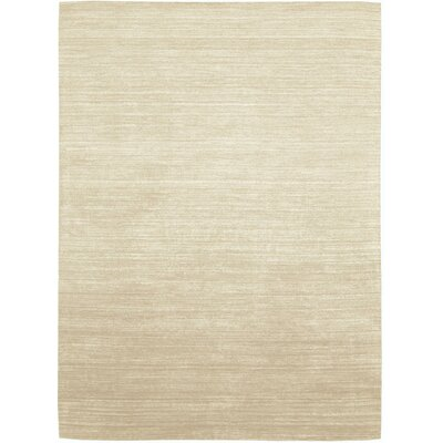 Roxy Handmade Ivory Area Rug Rug Size: Rectangle 36 x 56