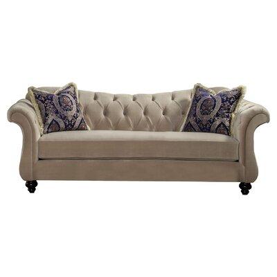 Indira Premium Sofa Upholstery: Light Mocha