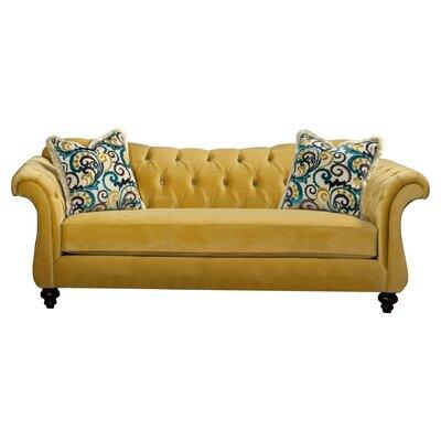 Indira Premium Sofa Upholstery: Yellow