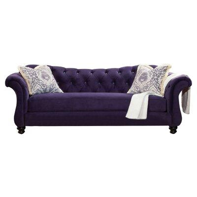 Indira Premium Sofa Upholstery: Purple