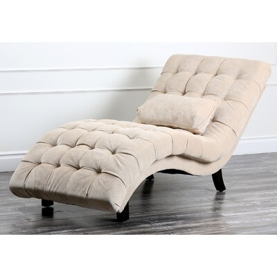Lizard Fabric Chaise Lounge