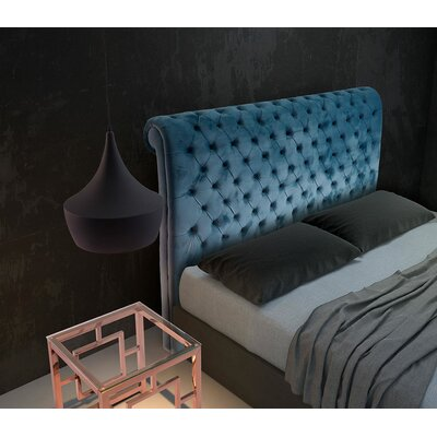 House of Hampton Winslow Upholstered Sleigh Headboard