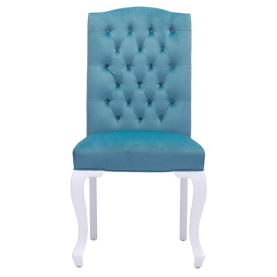 Arden Parsons Chair Upholstery: Blue