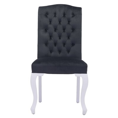 Arden Parsons Chair Upholstery: Black