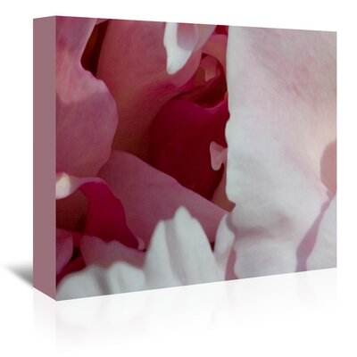 Peony Diptych Photographic Print on Wrapped Canvas Size: 14