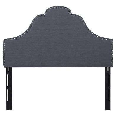Havilland Solid Upholstered Panel Headboard Size: Queen