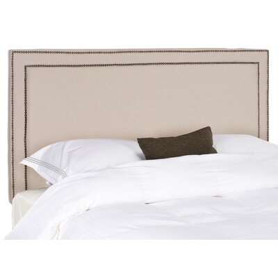 Ginger Upholstered Panel Headboard Upholstery: Taupe, Size: Full