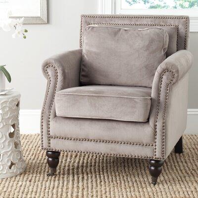 Bolt Armchair Upholstery: Mushroom Taupe