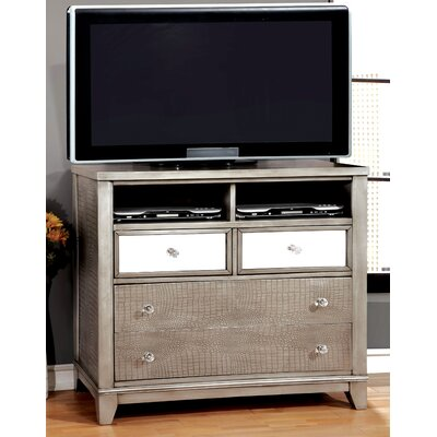 Rogers 4 Drawer Media Chest
