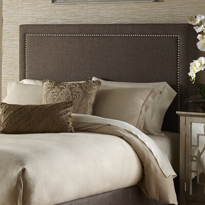 Makayla Upholstered Panel Headboard Size: King