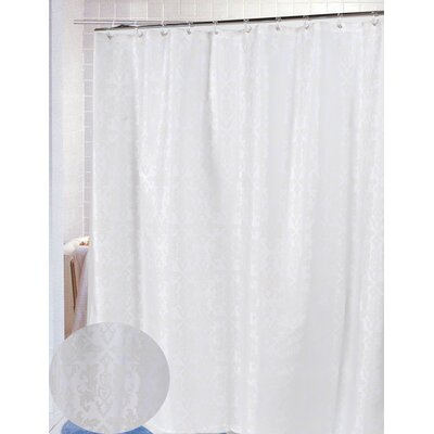 Bognor Regis Polyester Shower Curtain Color: Ivory