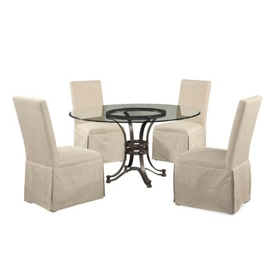 Lamb Traditional 5 Piece Dining Set
