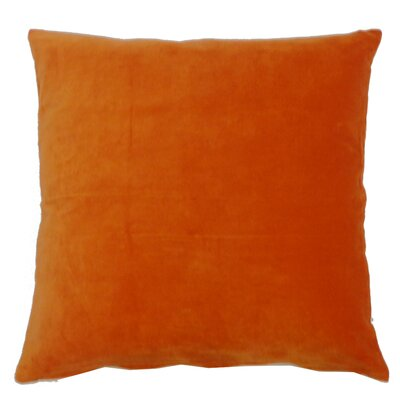 Northam Cotton Throw Pillow Color: Orange