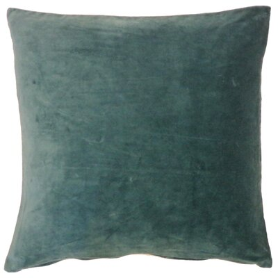 Northam Cotton Throw Pillow Color: Jade