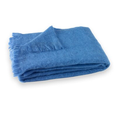 St Helens Brushed Mohair Throw Color: Provence
