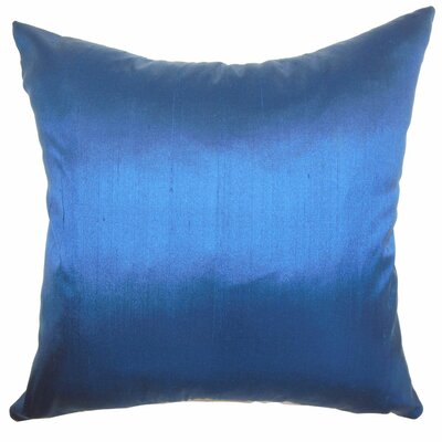 Sheerness Plain Silk Throw Pillow Size: 18 H x18 W