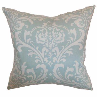 Stellan Cotton Throw Pillow Color: Powder Blue, Size: 18x18