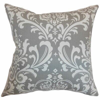 Stellan Cotton Throw Pillow Color: Storm, Size: 20 x 20