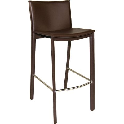 Ismaeil 29.5 Bar Stool Finish: Brown