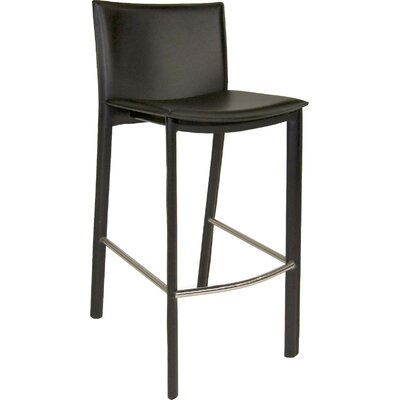 Ismaeil 29.5 Bar Stool Finish: Black