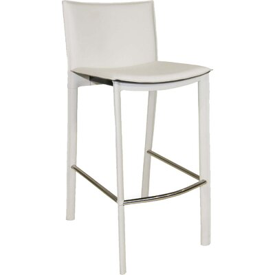 Ismaeil 29.5 Bar Stool Finish: White