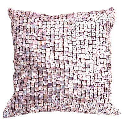 Vincent Pearl Throw Pillow Color: Purple Plum