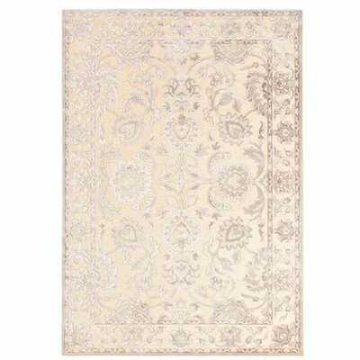 Upham Beige/Gray Area Rug Size: Rectangle 2'2