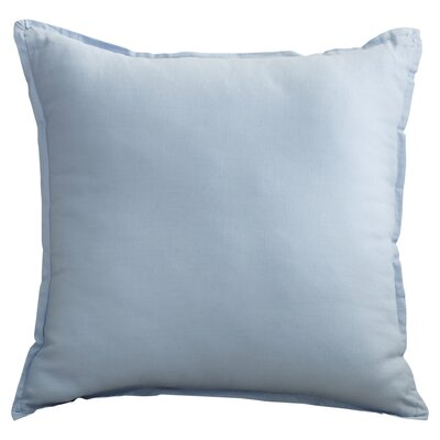 Strathmore Throw Pillow Size: 22 H x 22 W x 4 D, Color: Sky Blue