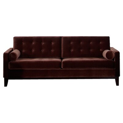 Mangerite Sofa Upholstery: Brown
