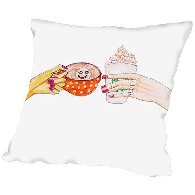 Alison B Hot Fall Drinks Throw Pillow