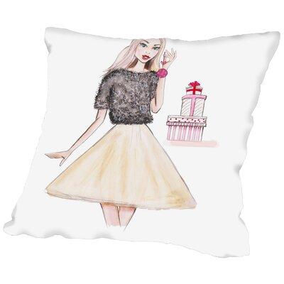 Alison B Let It Snow Throw Pillow