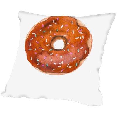 House of Hampton Palladium Doughnut Throw Pillow