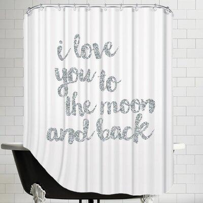 Grossular I Shower Curtain Color: Silver