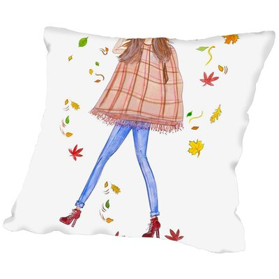Alison B Cape Fall Throw Pillow