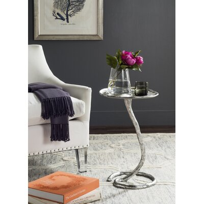 Potter End Table Color: Silver