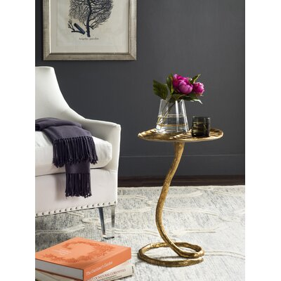 Potter End Table Color: Gold