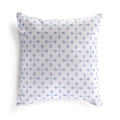 Greifenstein Pillow Cover Color: Frost Blue