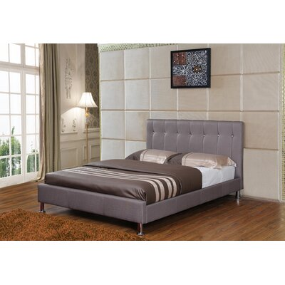 Seraphin Upholstered Platform Bed Size: Full, Color: Taupe