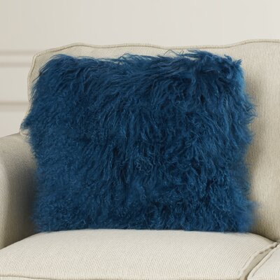 Elisha Throw Pillow Color: Blue