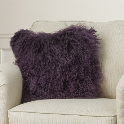 Elisha Throw Pillow Color: Purple