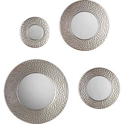 4 Piece Wall Mirror Set