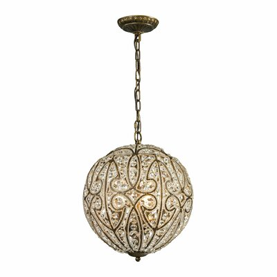 Goethe 6-Light Globe Pendant